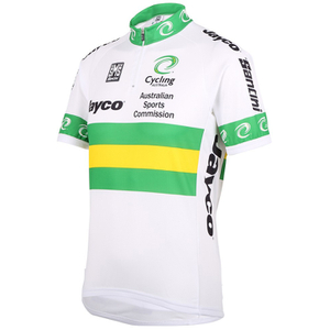 Santini Australian National Team 16 Short Sleeve Jersey - White