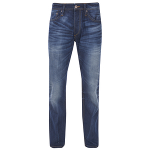 Jack & Jones Men's Originals Mike Comfort Fit Jeans - Mid Wash