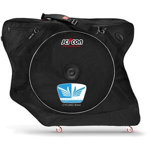 Scicon Aerocomfort 2.0 TSA Bike Bag - Black - Team Fundacion Alberto Contador Edition