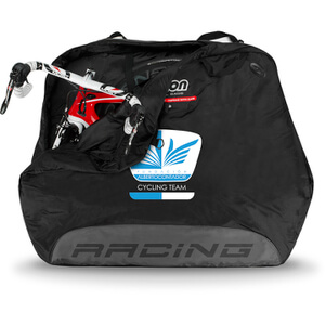 Scicon Travel Plus Racing Bag - Black - Team Fundacion Alberto Contador Edition