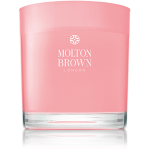Molton Brown Rhubarb and Rose Three Wick Candle 480g