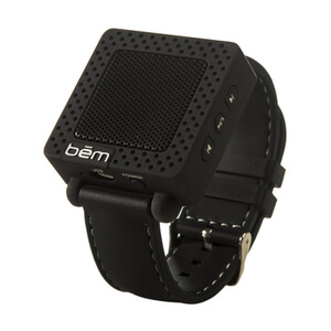 Bem Wristband Bluetooth Speaker - Black