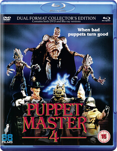 Puppet Master 4 - Dual Format (Includes DVD)