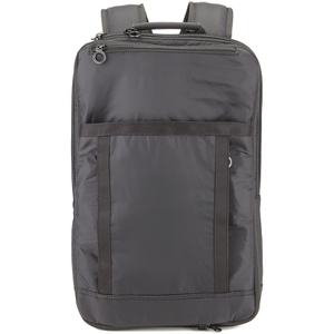 C6 Men's Square Extender Ripstop Backpack - Black
