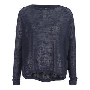 ONLY Women's Alba Long Sleeve Top - Night Sky
