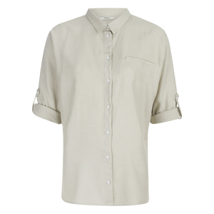 ONLY Women's Giselle Suki Shirt - Pumice Stone