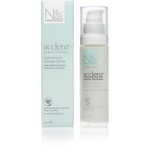 Dr. Nick Lowe acclenz Deep Action Blemish Serum 50ml