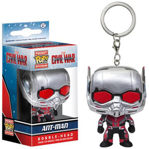 Captain America: Civil War Ant-Man Pocket Pop! Key Chain