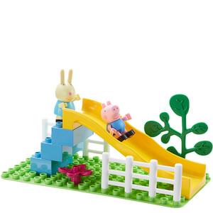 Peppa Pig Construction: Playground Slide Set