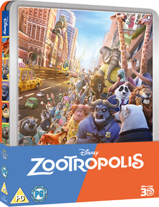 Zootropolis 3D (Includes 2D Version) - Zavvi Exclusive Limited Edition Steelbook