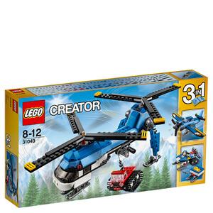 LEGO Creator: Dubbel-rotor helikopter (31049)