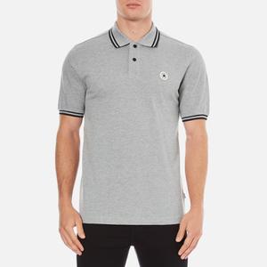 Converse Men's All Star Core Polo Shirt - Vintage Grey Heather