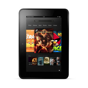 Kindle Fire HD 7' 16GB Tablet (Re-Flashed to Android 4.4 KitKat) - Refurbished