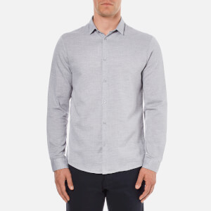 Selected Homme Men's Donekobe Long Sleeve Shirt - Glacier Gray