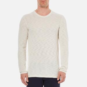 Selected Homme Men's Grad Crew Neck Sweatshirt - Bone White