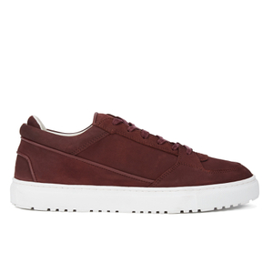 ETQ. Men's Low Top 3 Leather Trainers - Porto