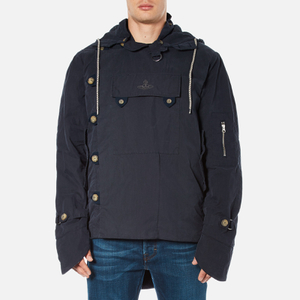 Vivienne Westwood Anglomania Men's Military Parka Jacket - Dark Blue