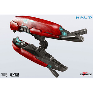 TriForce Halo 2 Brute Plasma Rifle Anniversary Edition 24 Inch Replica