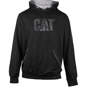 Caterpillar Men's Lightweight Tech Hooded Sweatshirt - Black
