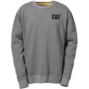 Caterpillar Men's Trademark Crew Sweatshirt - Grey