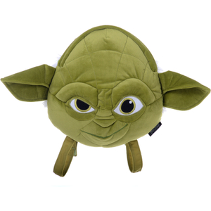 Star Wars Yoda Plush Head Shaped Backpack