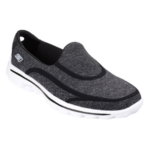 Skechers Women's GOwalk 2 Super Sock Pumps - Black