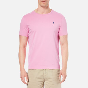 Polo Ralph Lauren Men's Crew Neck T-Shirt - Caribbean Pink