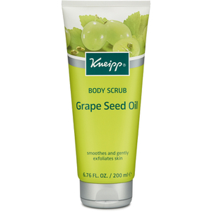 Kneipp Skin Firming Exfoliating Grape Seed Body Scrub (200ml)