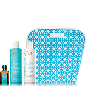 Moroccanoil Smooth Shampoo, Conditioner and Treatment Trio Bag (Worth £52.15)