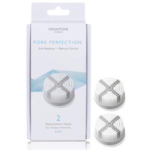 Magnitone London Pore Perfection Brush Replacement Head (2 Pack)