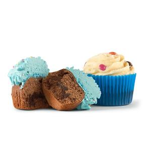 Protein Birthday Cupcakes