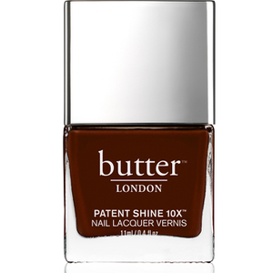 butter LONDON Patent Shine 10X Nail Lacquer 11ml - Rather Red