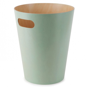 Umbra Woodrow Waste Can - Mint