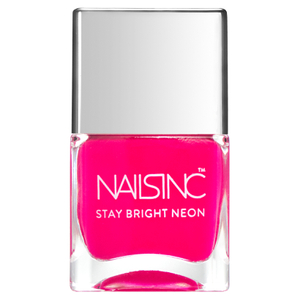 nails inc. Claridge Gardens Nail Polish - Neon Pink 14ml