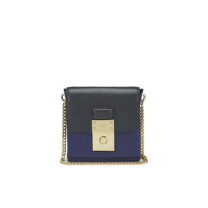 Ted Baker Women's Taela Luggage Lock Small Cross Body Bag - Dark Blue