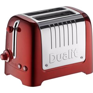 Dualit 26281 Lite 2 Slot Toaster - Metallic Red
