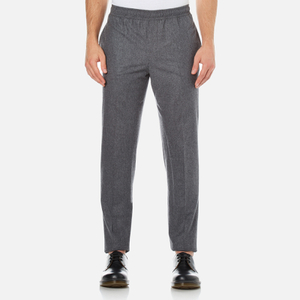 Carven Men's Elastic Waist Trousers - Gris Chine