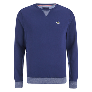 Le Shark Men's Greenfield Crew Neck Sweatshirt - Bijou Blue