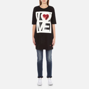 Love Moschino Women's Love T-Shirt Dress - Black
