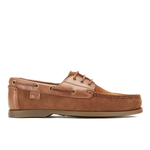 Polo Ralph Lauren Men's Bienne II Suede Boat Shoes - New Snuff/Polo Tan