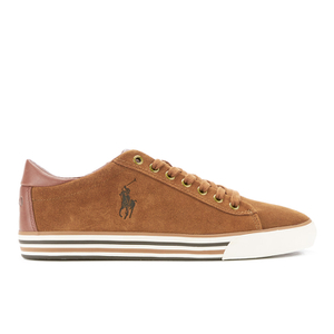 Polo Ralph Lauren Men's Harvey Suede Trainers - New Snuff