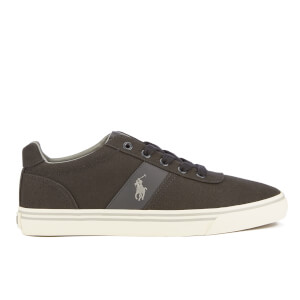 Polo Ralph Lauren Men's Hanford Canvas Trainers - Dark Carbon Grey