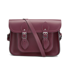 The Cambridge Satchel Company Women's 11 Inch Magnetic Satchel - Oxblood