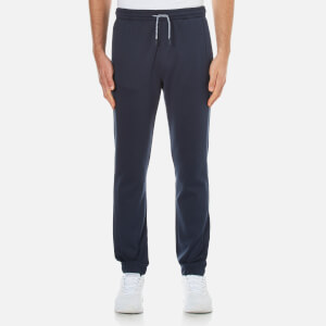 BOSS Green Men's Hadiko Cuffed Sweatpants - Blue
