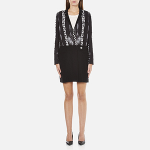 Versus Versace Women's Print Shirt Dress - Black/White