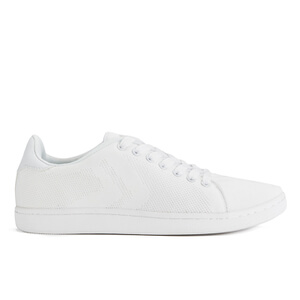 Crosshatch Men's Cross Shot Mesh Trainers - White