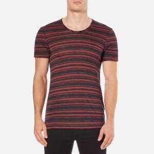 J.Lindeberg Men's Teller Stripe T-Shirt - Multi