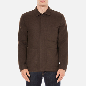 A Kind of Guise Men's Yak Wool Teheran Jacket - Chocolate