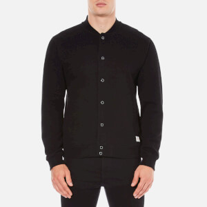 Penfield Men's Massac Bomber Sweatshirt - Black