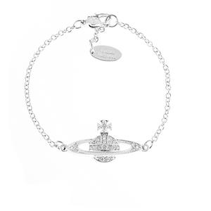 Vivienne Westwood Jewellery Women's Mini Bas Relief Bracelet - Silver